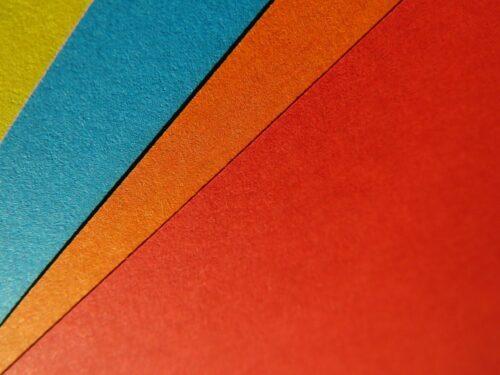 triangle couleur pop